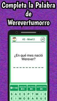 Werevertumorro Quiz screenshot 8