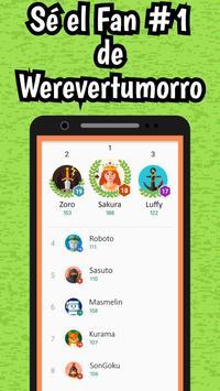 Werevertumorro Quiz screenshot 9