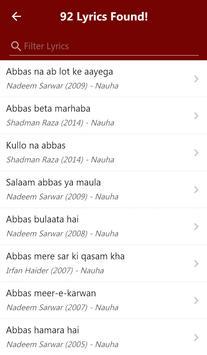 Nauha Lyrics captura de pantalla 8