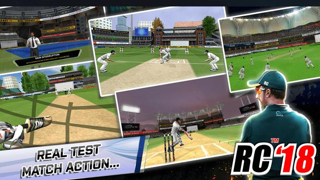 Real Cricket™ 18 Cartaz