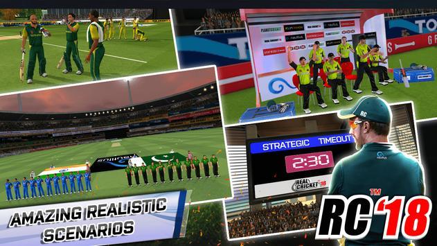 Real Cricket™ 18 स्क्रीनशॉट 11