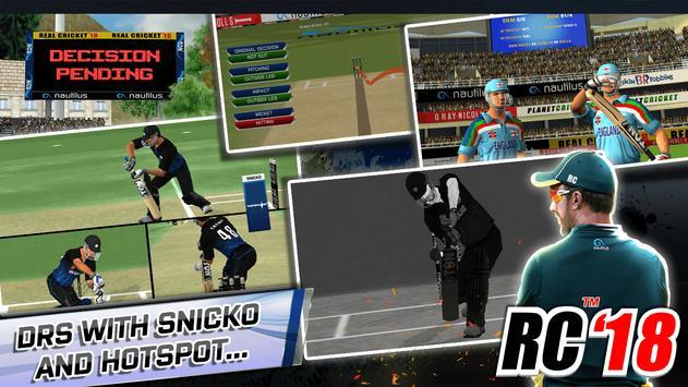 Real Cricket™ 18 ảnh chụp màn hình 2