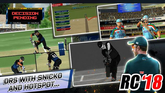 Real Cricket™ 18 स्क्रीनशॉट 2