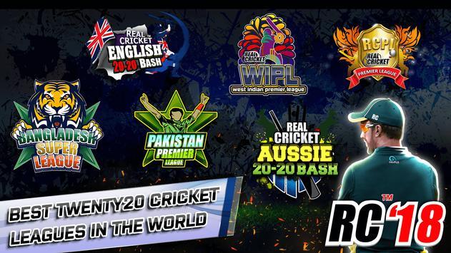 Real Cricket™ 18 स्क्रीनशॉट 4