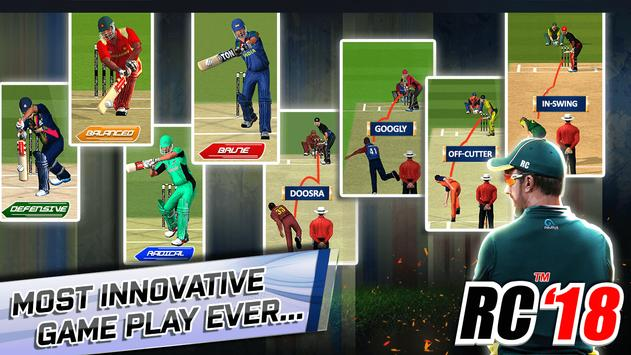 Real Cricket™ 18 स्क्रीनशॉट 6