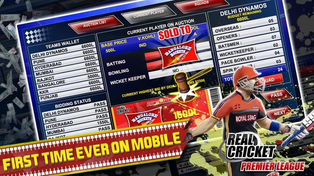 Real Cricket™ Premier League screenshot 2