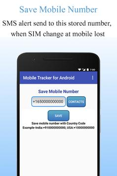 Mobile Tracker for Android screenshot 3