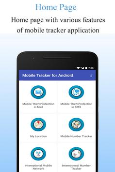 Mobile Tracker for Android screenshot 1