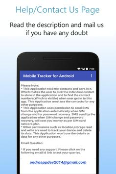 Mobile Tracker for Android screenshot 7