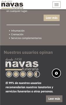 Navas Funeraria screenshot 1