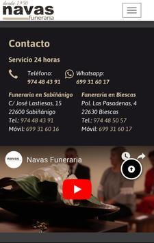 Navas Funeraria screenshot 2