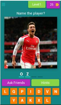 Guess The Arsenal Player poster