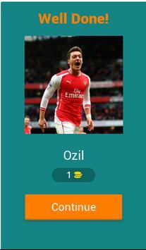 Guess The Arsenal Player screenshot 1