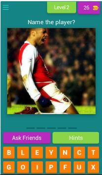 Guess The Arsenal Player screenshot 2