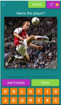 Guess The Arsenal Player screenshot 3