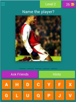 Guess The Arsenal Player screenshot 6