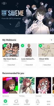 WEBTOON скриншот 5