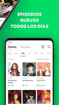 WEBTOON captura de pantalla 3