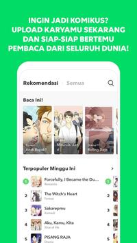 LINE WEBTOON - Komik Gratis screenshot 4