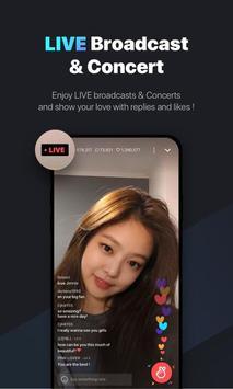 V LIVE poster