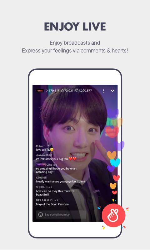 Global Star Live app V LIVE for Android - APK Download