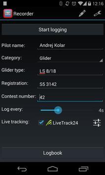 SeeYou IGC Flight Recorder screenshot 1