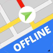 Icona Mappe e navigazione offline