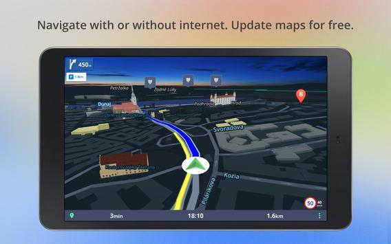 6 Schermata Mappe e navigazione offline