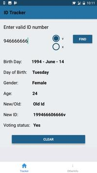 Sri Lanka NIC Info Provider screenshot 1
