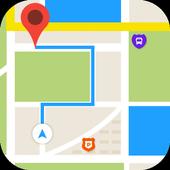 Voice Navigation All & Transit Live Places icon