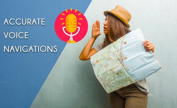 Voice Navigation All & Transit Live Places screenshot 7