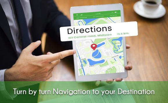 Voice Navigation All & Transit Live Places screenshot 1