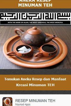 Resep Kreasi Minuman TEH poster