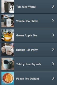 Resep Kreasi Minuman TEH screenshot 3