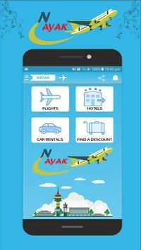 NAYAK(Cheap Booking Flights,Hotels,Car,Holiday) poster