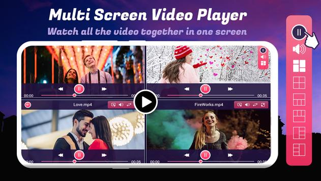 Multi Screen Video Player poster