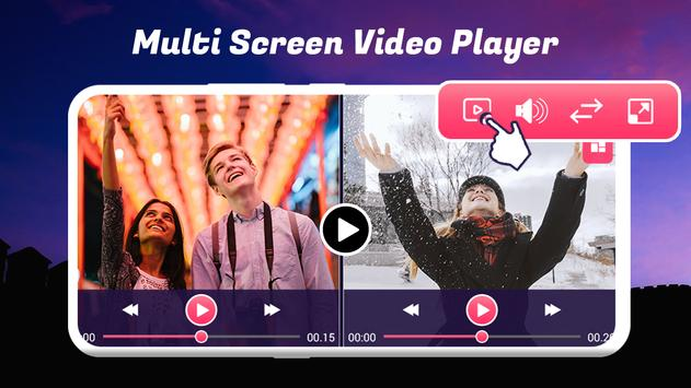 Multi Screen Video Player screenshot 1