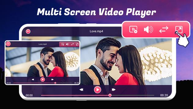 Multi Screen Video Player screenshot 2