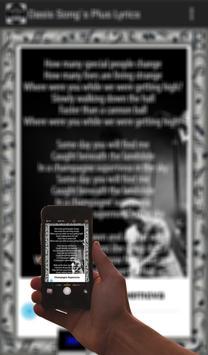 Oasis Song's Plus Lyrics screenshot 3
