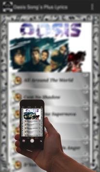 Oasis Song's Plus Lyrics screenshot 2