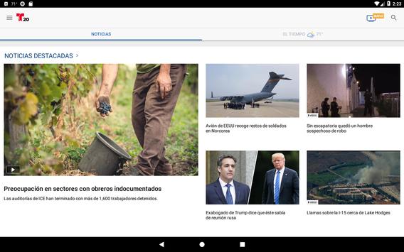 Telemundo 20 screenshot 6