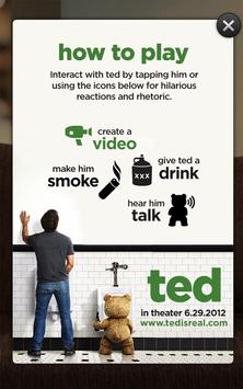 Talking Ted LITE poster