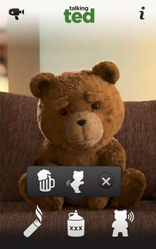 Talking Ted LITE screenshot 1