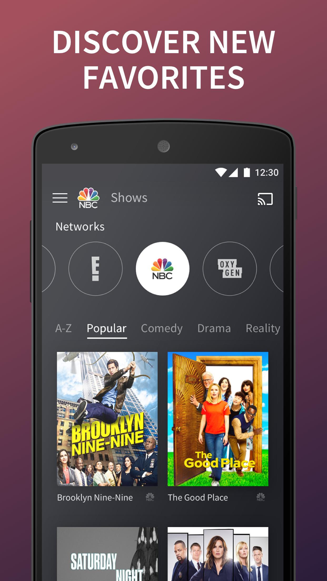 The NBC App - Stream Live TV and Episodes for Free for Android - APK