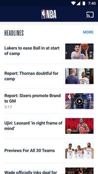 NBA スクリーンショット 6