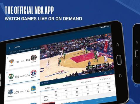 NBA ảnh chụp màn hình 7