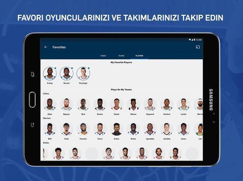NBA Ekran Görüntüsü 9