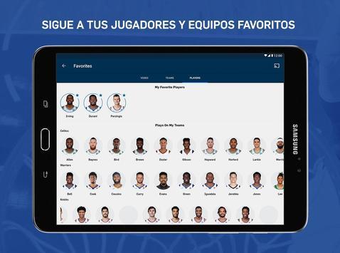 NBA captura de pantalla 9