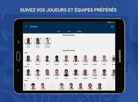 NBA capture d'écran 14