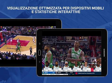 8 Schermata NBA
